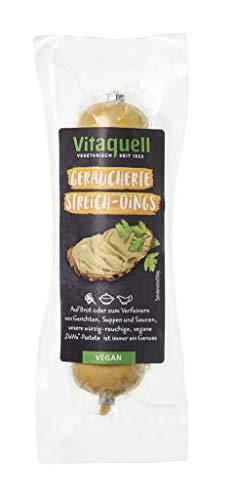 Vitaquell Geräucherte Streich-Dings 100g, wie Leberwurst und natürlich vegan
