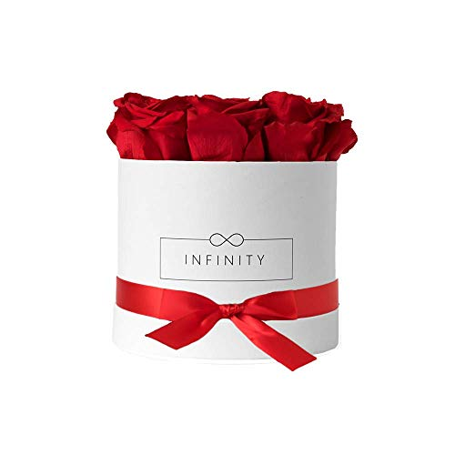 Infinity Flowerbox 2-BW-VR cadeau, Rouge Vibrant