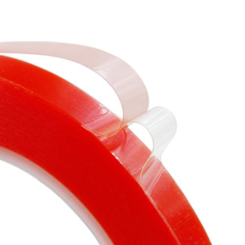 10mm x25M Clear Double Sided Strong Adhesive Acrylic Tape for Cellphone iPhone Tablet LCD Screen Repair