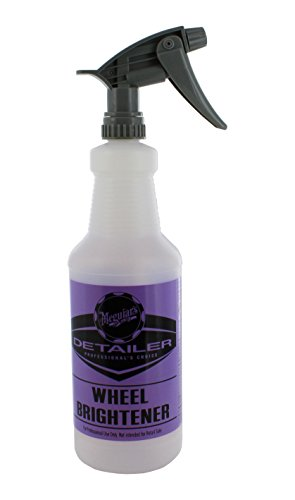 Meguiars D20140 Wheel Brightener Bottle - 32 oz. Capacity W D110542 Chemical Resistant Sprayer