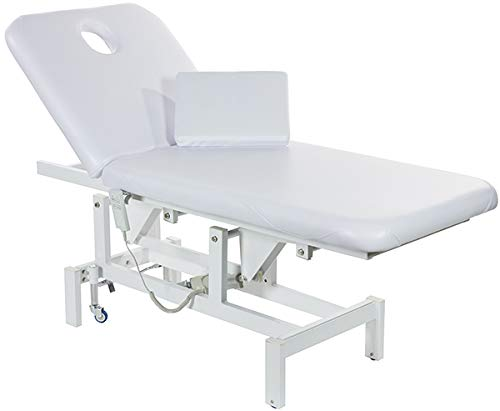 Opal Electric Facial Bed Massage Table with Motorized Reclinable Height and Backrest by SkinAct
