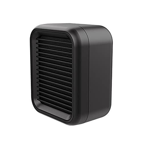 SunshineFace 800W Mini- Keramische Lüfterheizung 2 Wärmeeinstellung Heizung Spitze über Schutz für Büro Und Schlafzimmer