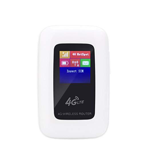 kuwfi libre Travel Partner 4G Wifi Router 100Mbps Mini Mobile Hotspot portátil Router inalámbrico 3G 4G Wifi con SIM Card Slot (ad esclusione la papel SIM)