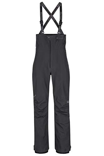 Marmot Herren Spire Bib' Hardshell Ski- Und Snowboard Hose, Winddicht, Wasserdicht, Atmungsaktiv, Black, L