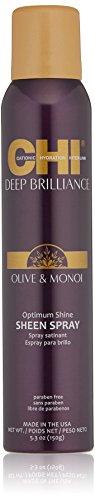 CHI Deep brilliance Olive & Monoi Sheen Spray 150gr - spray lucidante