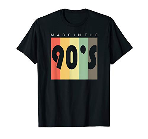 Made In The 90s Tee Shirt, Fun Made In The Nineties T-Shirt
