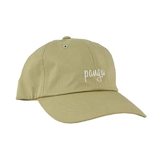 pangu Caps classic für Damen und Herren beige - Basecaps aus 100 % Baumwolle mit verstellbarem Verschluss - Einfarbiges Dad Cap in Deutschland bestickt und veredelt - Unisex Baseballkappe