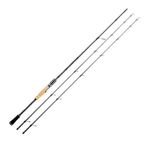 SeaKnight Falcon Fishing Rods Ceramic Guide Rings 30-40Ton Carbon Fiber Fishing Rods 2 Sections Twin-Tip Spinning Rods (2.1M)