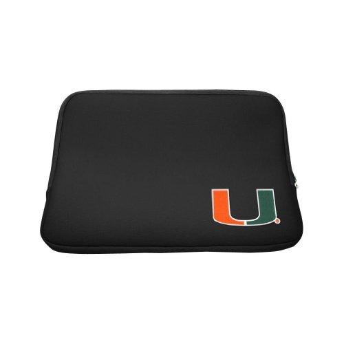 Centon Electronics University of Miami Edition 13-Inch Collegiate Laptop Sleeve (LTSC13-MIA),Black