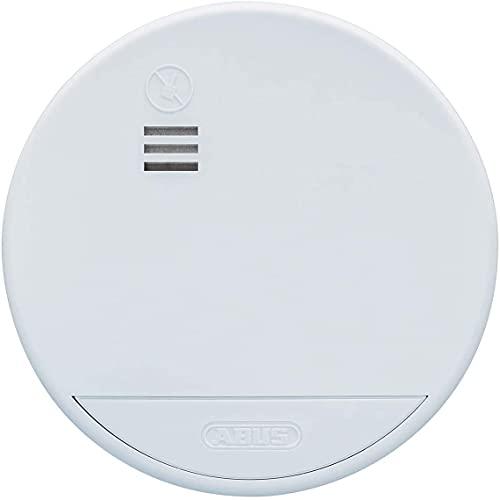 ABUS Funk-Rauchmelder RWM165 5er Set - geeignet für Wohnräume und Kellerräume - 10 Jahre Batterie - funkvernetzt - 85dB Alarmlautstärke - weiß