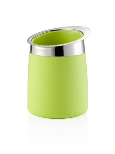 BRANDANI Porta Bottiglia Termico GLACETTE Verde ABS E Inox 56598