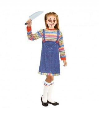 Partilandia Disfraz Muñeca Asesina para niña (2-4 años) Halloween 20069