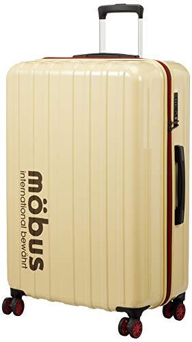 [エー・エル・アイ] ハードキャリー mobus×A.L.I コラボレーションキャリーケース 96L 76 cm 4.3kg アイボリー