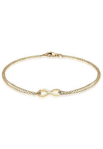 Elli Armband Damen Infinity Trend Symbol in 925 Sterling Silber