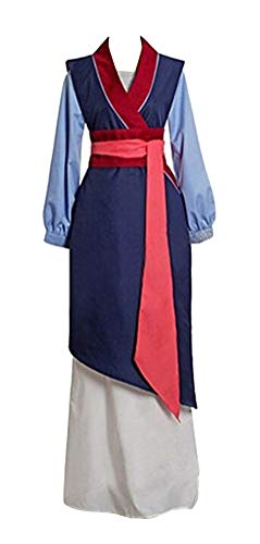 Princess Costume Adult Women, Deluxe Halloween Cosplay Outfit Fancy Dress (M) Blue - http://coolthings.us