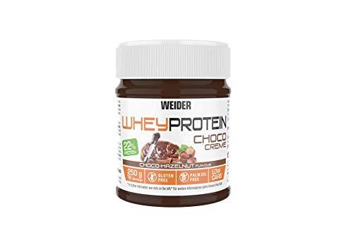 WEIDER Whey Protein Choco Creme, leckerer Schoko-Haselnuss Aufstrich mit 22% Protein
