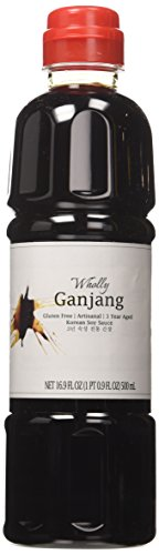 Wholly Ganjang, Premium Gluten-free Unpasteurized Artisanal 3 Year Aged Korean...