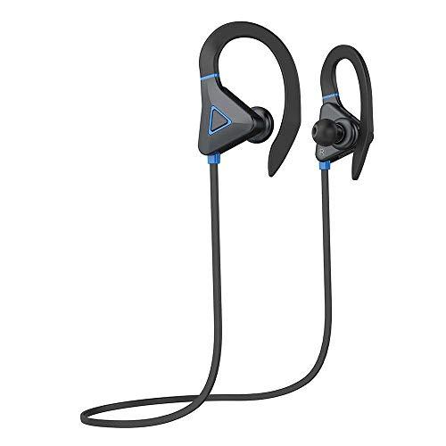 FuriGer Bluetooth Headphones IPX7 Waterproof, Wireless Sport Earphones Bluetooth 5.0, HiFi Bass...