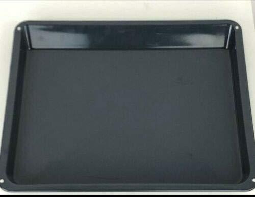 Original AEG Fettpfanne 140024698023 Bratblech 3879056202 emailiert 466x385x38mm
