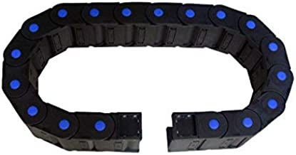 WNJ-TOOL, 1pc 30x50 versterkte nylon kabel carrier sleepketting ingekapseld techniek nylon towline tanks ketting