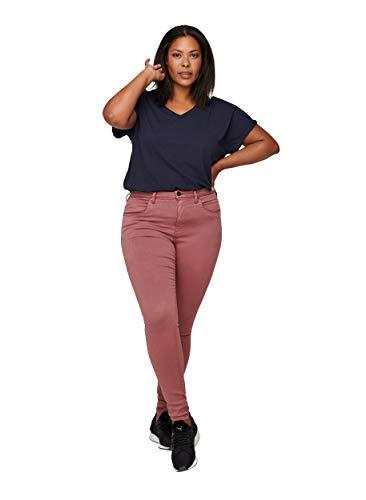 Zizzi Damen Große Größen Amy Jeans Hohe Taille Slim Gr 42-56