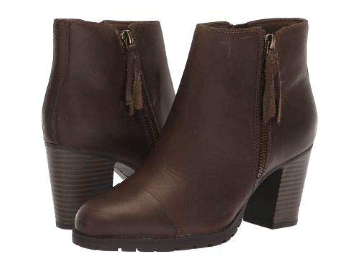 証言する小石請求可能Clarks(クラークス) レディース 女性用 シューズ 靴 ブーツ アンクルブーツ ショート Verona Peach - Olive Leather [並行輸入品]
