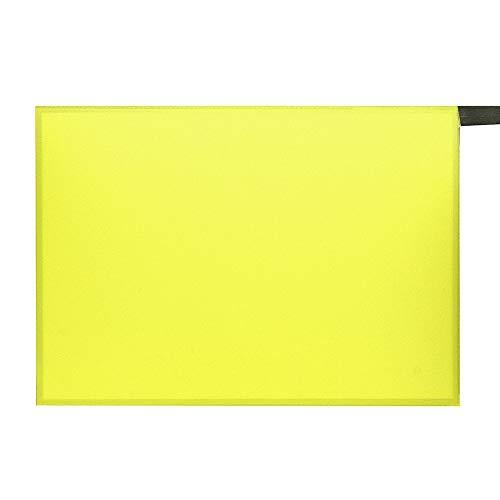 Fanuse 105Mm X 148Mm EL Panel Elektro Lumineszenz Folie Neon Folie + Aktor 12V Zitronen GrüN