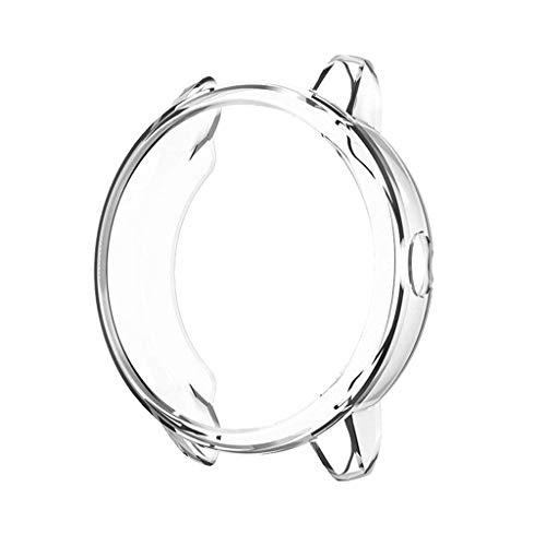 Coques Compatible avec Garmin vivoactive 3 Smartwatch, Ultra-Mince Soft Plaqué TPU Anti-Rayures Bumper Coque de Protection Couverture de Cas pour Garmin vivoactive 3 Smartwatch (Clair)