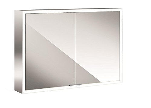 Emco asis LED-Spiegelschrank Prime, AP 1000 mm, 2-türig, Rückwand Spiegel
