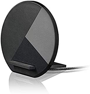 Native Union Dock Marquetry Wireless Charger–Genuine Italian Leather High Speed [Qi Certified] 10W Versatile Fast Wireless...