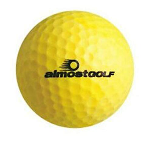 Best Buy! AG AlmostGolf Balls - Limited Flight Practice Golf Balls (12 Pack) - Yellow