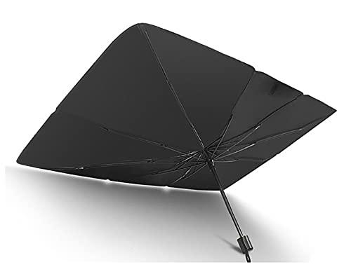 BHDCH El Paraguas del Parabrisas Delantero del Automóvil Es Anti-Ultravioleta Y Paraguas Plegable para Mantener El Automóvil Fresco(Size:125X65cm,Color:A1)