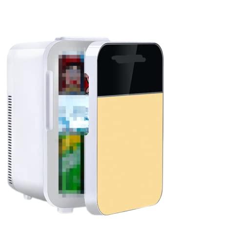 Mxsnow Mini Refrigerador para Dormitorio Refrigerador Calentador Portátil Snjiaheim Es Adecuado para El Cuidado De La Piel Cosméticos-C