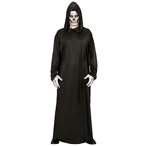 WIDMANN- Traje muerte vestido con capucha, Color negro, S (00011)