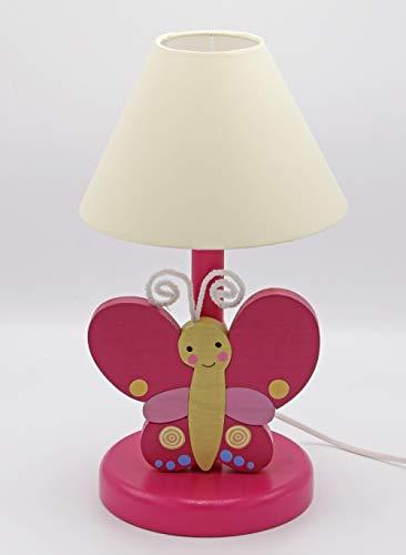 Clevere Kids Lampe de table pour enfant en bois Fait main A++