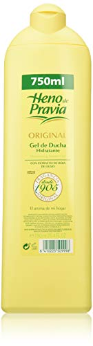 Heno de Pravia Original - Gel de ducha, paquete de 3 (3x750 ml)