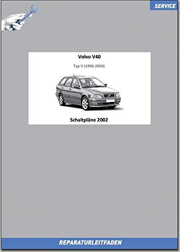 Volvo V40 (2002) Werkstatthandbuch Schaltpläne (gedrucktes Buch)