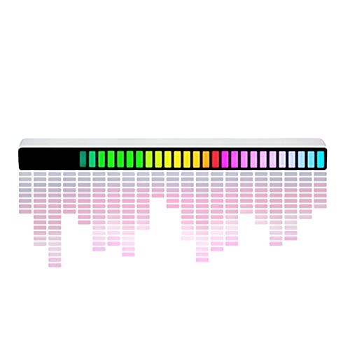 LáMpara de Pastilla MicróFono Incorporado, Analizador de Espectro Musical InduccióN del Campo de Sonido, Familia, Bar, Club, Coche