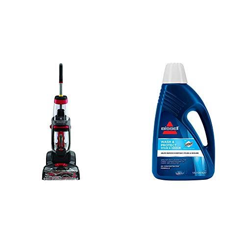 BISSELL ProHeat 2X Revolution Limpiadora de alfombras, Limpiador de agua, 800W + 1086N Limpieza para Alfombra, 1.5 Liters