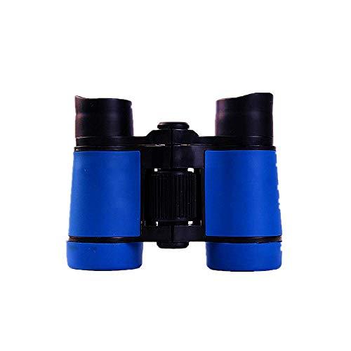 kabinga 5, Mango de Goma de Color telescopio Antideslizante para niños, telescopio con Lupa Binocular de Juguete para niños,Azul, L Unisex-Adult