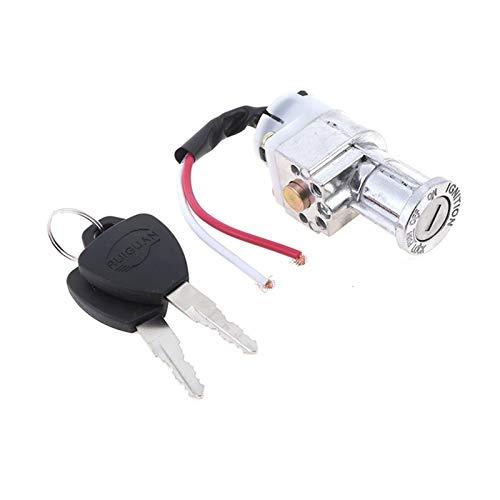 YUSHAOLI YSLI® 1pc Nueva batería Universal Chager Mini Cerradura con 2 Llaves...