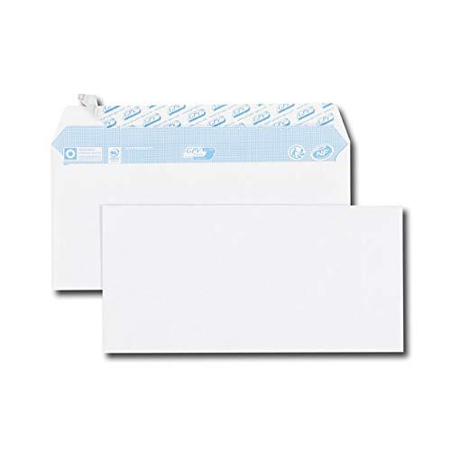 GPV 517 Briefumschläge, DL, 110 x 220 mm, weiß, ohne Fenster