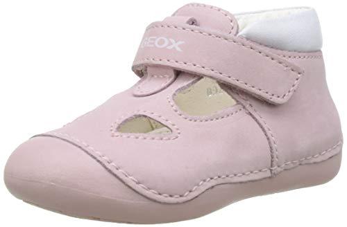 Geox Baby Mädchen B TUTIM A Sneaker, Pink (Lt Pink/White C0811), 22 EU