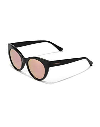 HAWKERS Divine Gafas de sol, Black · Rose Gold, One Size Womens
