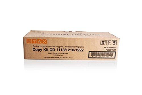 Original Utax 612210010 / CD1218, für CD 1222 Premium Drucker-Kartusche, Schwarz, 15000 Seiten