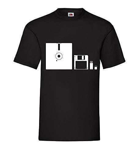 Evolution RAM Megabyte Männer T-Shirt Schwarz 3XL - shirt84.de
