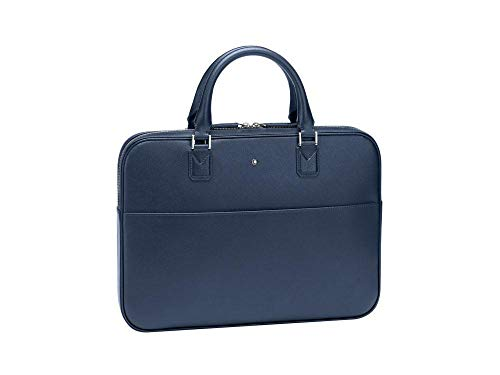 Montblanc Sartorial Business 37 x 4 x 27 Centimeters Blau