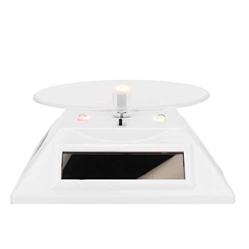 DAUERHAFT Soporte de exhibición de luz LED eléctrica, para Vidrio orgánico, para Relojes de exhibición