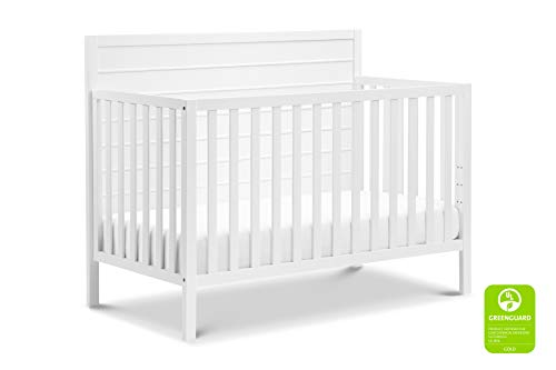 Carter's by DaVinci Morgan 4-in-1 Convertible Crib in White | Greenguard Gold Certified