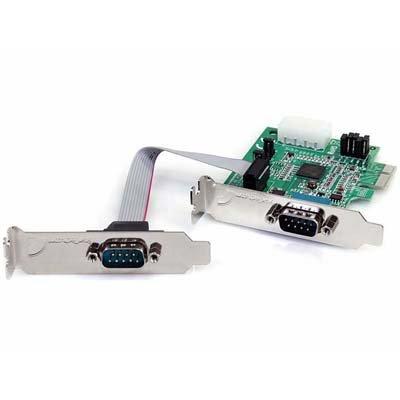 Startech. Com 2 PORT LP PCI EXPRESS SERIAL CARD Native RS232 PCI Express Serial Card with 16950 UART